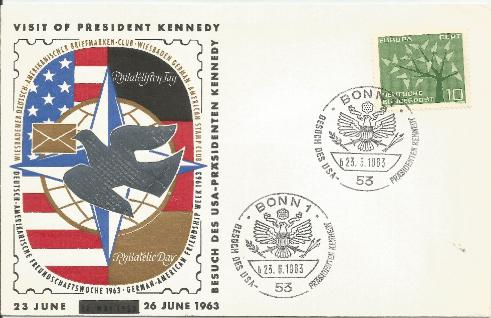 Germany  JFK Visit 6-23-63