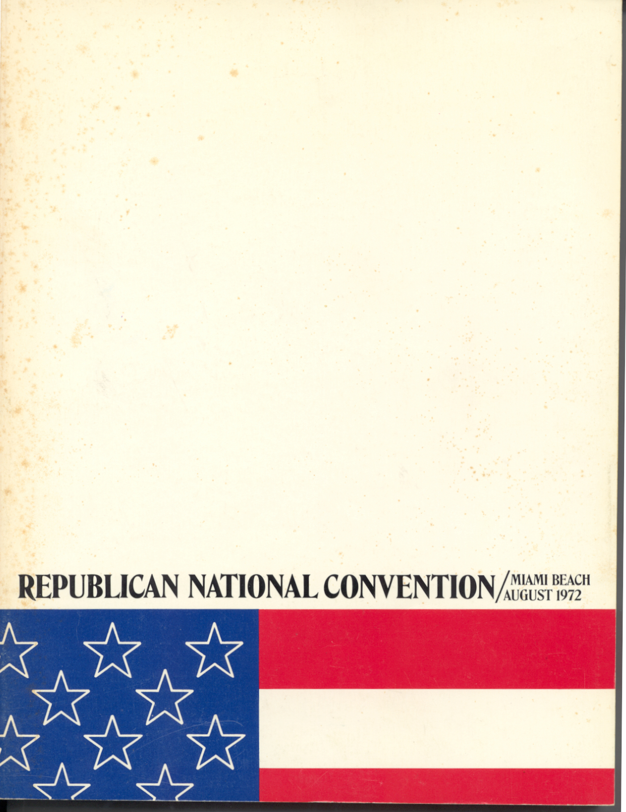 1972 Official Program