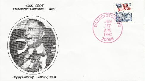 Ross Perot Birthday