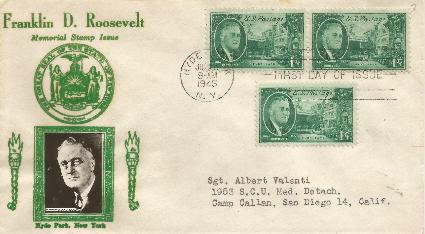 45-07-26 FDR Memorial 1cent #2
