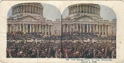 SC #5a Inauguration of Pres Roosevelt #196