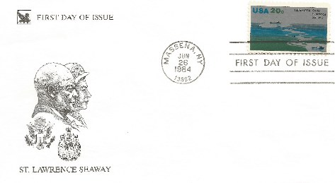 DDESEC 84-06-26 St Lawrence Seaway FDC