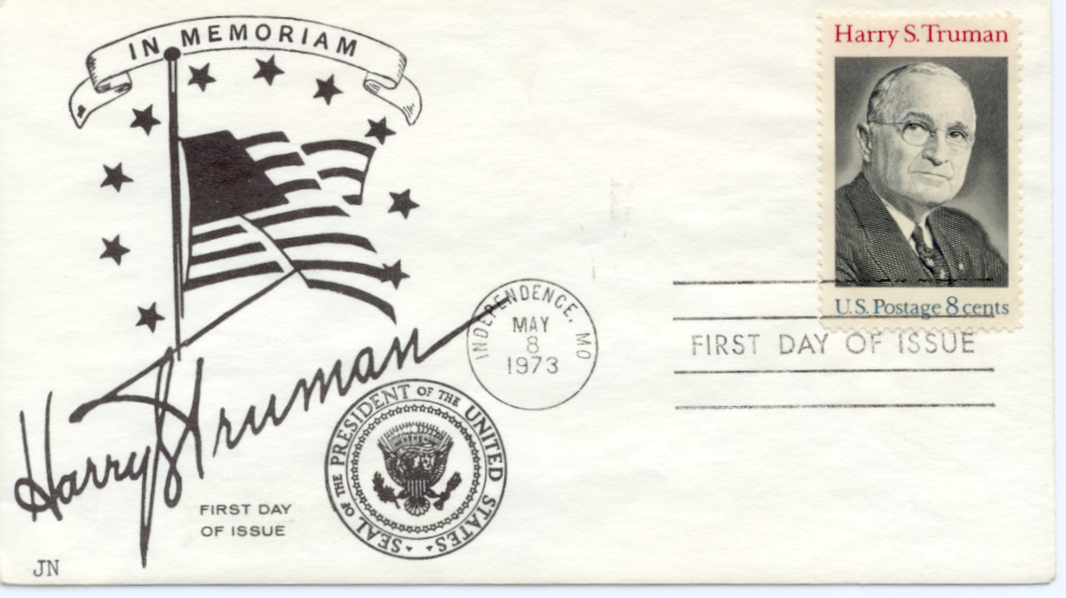 HST Memorial FDC #15