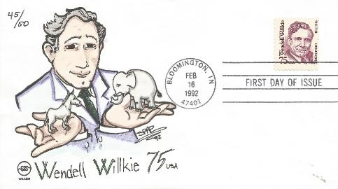 Wilkie FDC