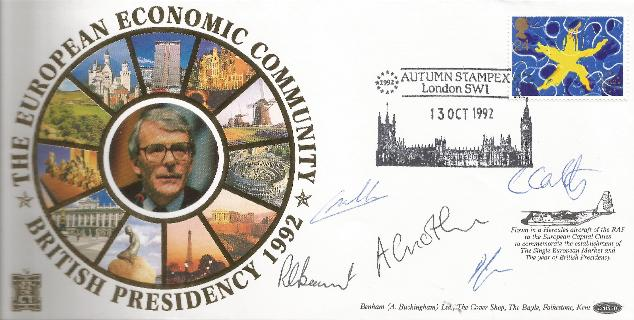 1992 European Economic Community Multiple signatures