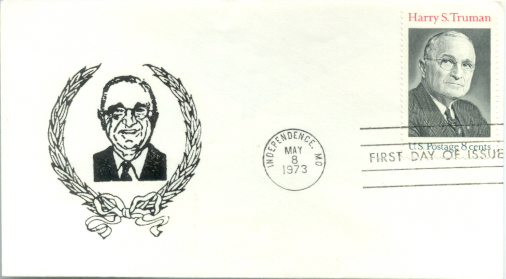 HST Memorial FDC #4