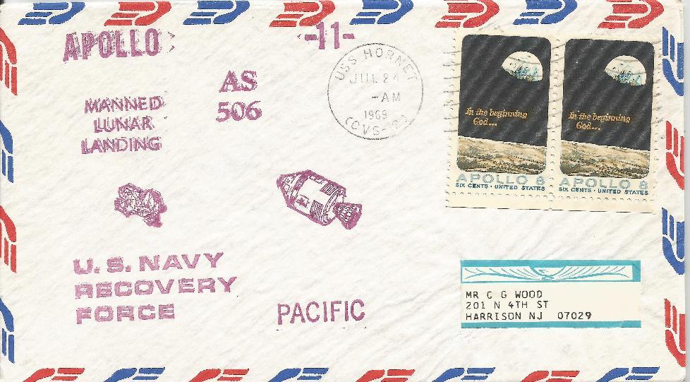 Apollo Moon Landing Recovery Ship cover