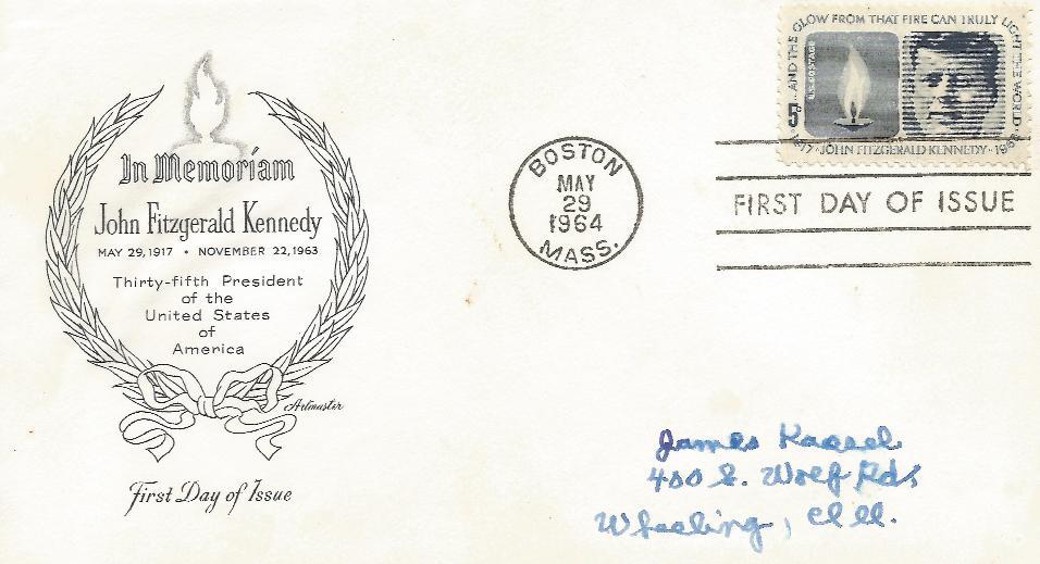 64-05-39 JFK memorial FDC