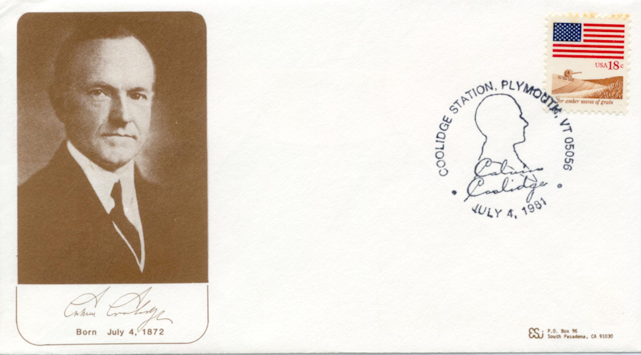 Coolidge Birthday 81-07-04