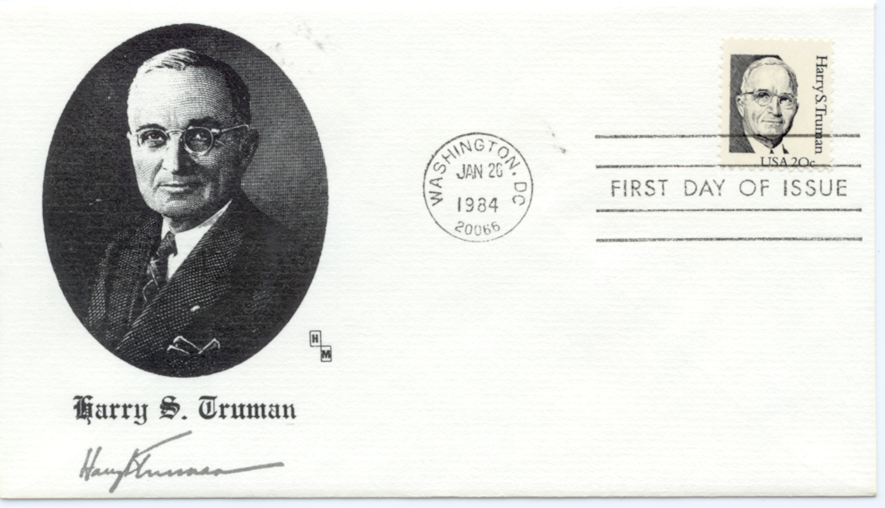 HST Definitive FDC #14