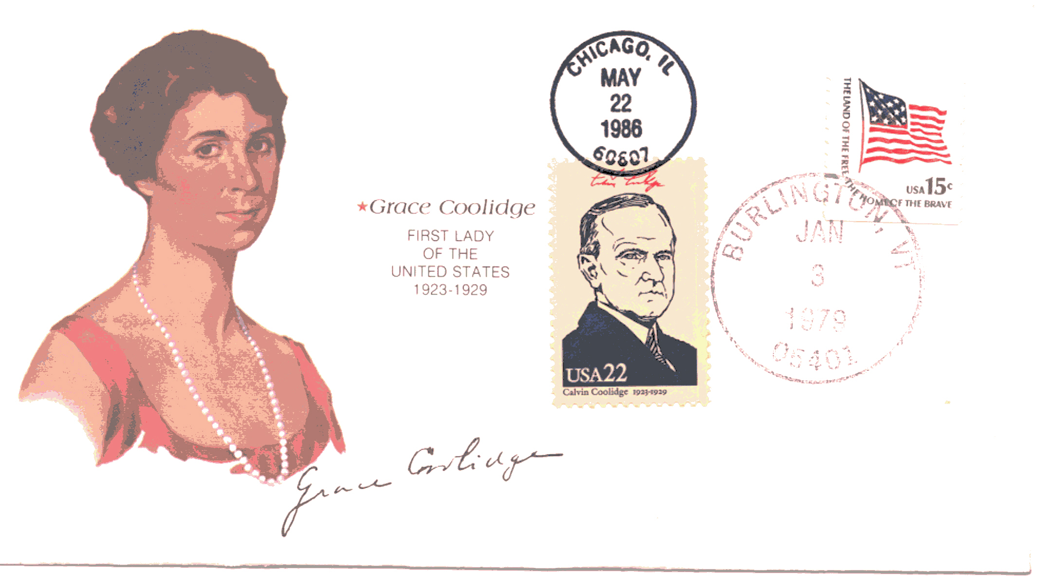 Grace Coolidge Birthday 79-01-03