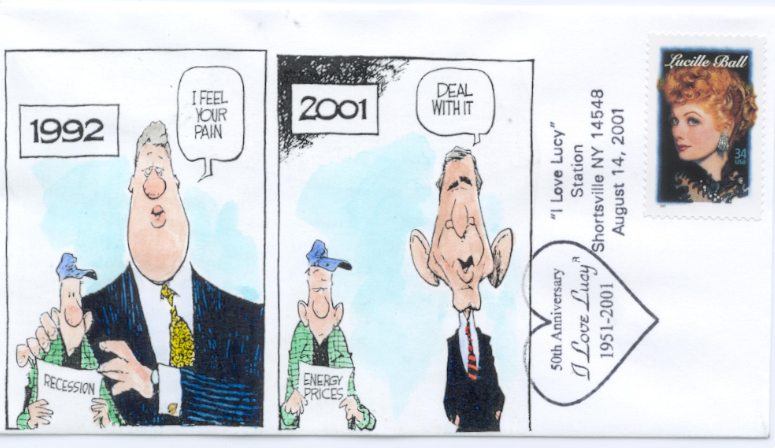 1992/2001 cartoon