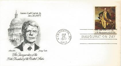 JEC-008 Carter Inaugural Cover