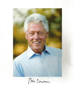 PH-154 Bill Clinton after Presidency