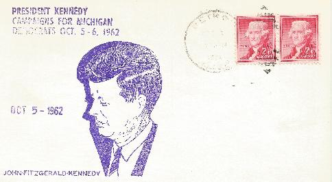 Kennedy campaigns for Michigan #1