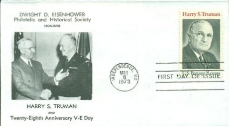 HST Memorial FDC #1