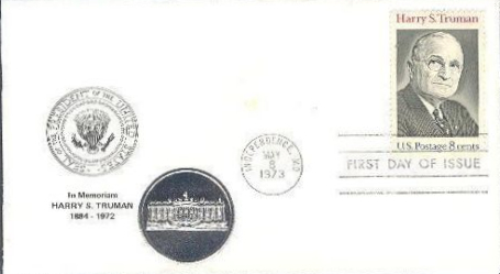 HST Memorial FDC  #3
