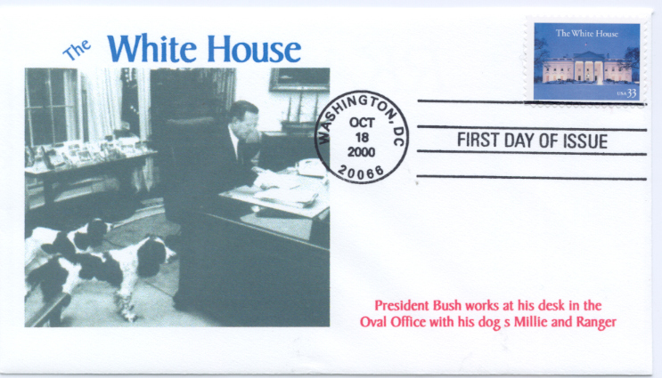 White House FDC #4