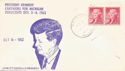 Kennedy campaigns for Michigan #2