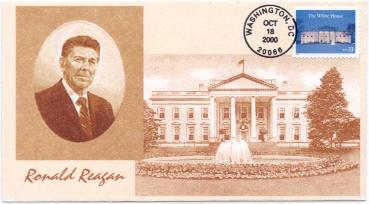 White House FDC #1
