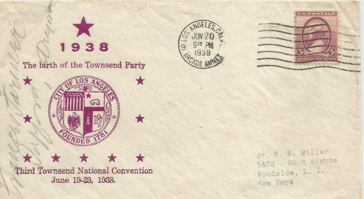 38-06-20 Townsend Party Convenion