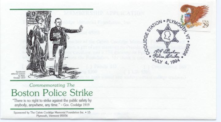 Boston Police Strike 94-07-04