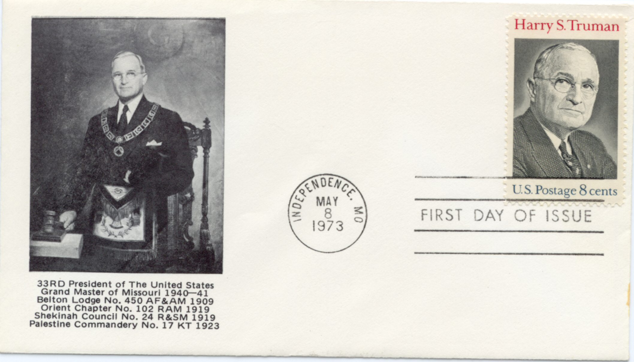 HST Memorial FDC #18