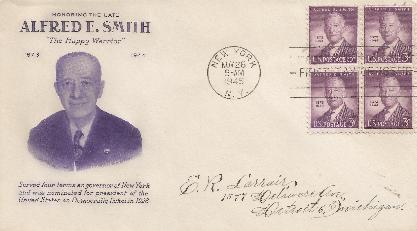 Alfred Smith FDC