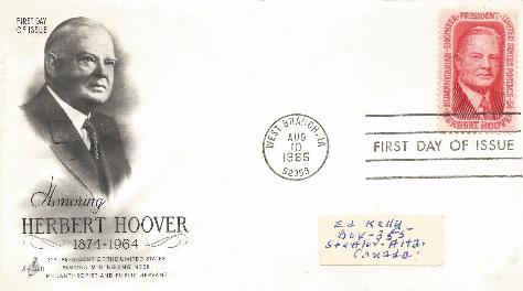 Hoover Memorial Cover 2a