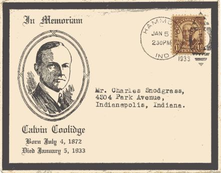 Coolidge Day of Death Morning
