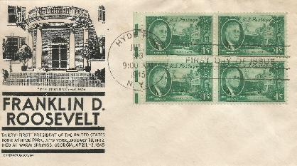 45-07-26 FDR Memorial 1cent #3
