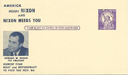 America Needs Nixon & Nixon Needs You