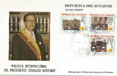 Ecuador FDC #2