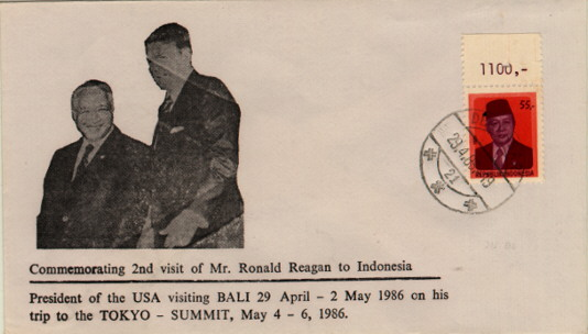 Indonesia Reagan Visit #1
