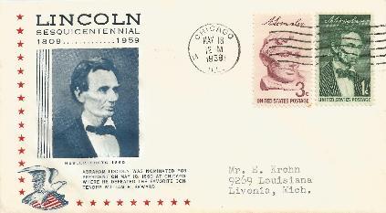 AL-59-05-18  Lincoln Nominated Anniversary