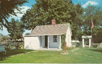 Birthplace postcard