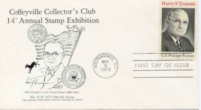 HST Memorial FDC #11