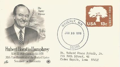 Hubert Humphrey Burial #2