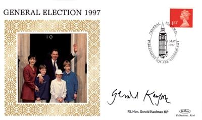 1997 General Election Gerald Kaufman signed