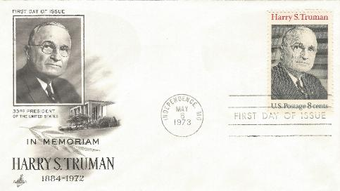 HST Memorial FDC #7