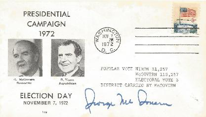 George McGovern - Presidential Opponent