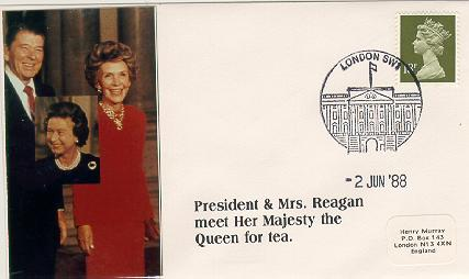 UK Reagan Visits Queen