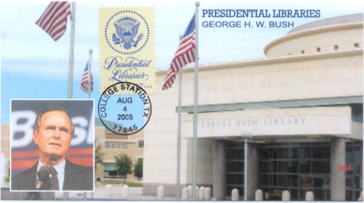 Presidential Library FDC #3