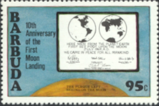 Barbuda Moon Landing
