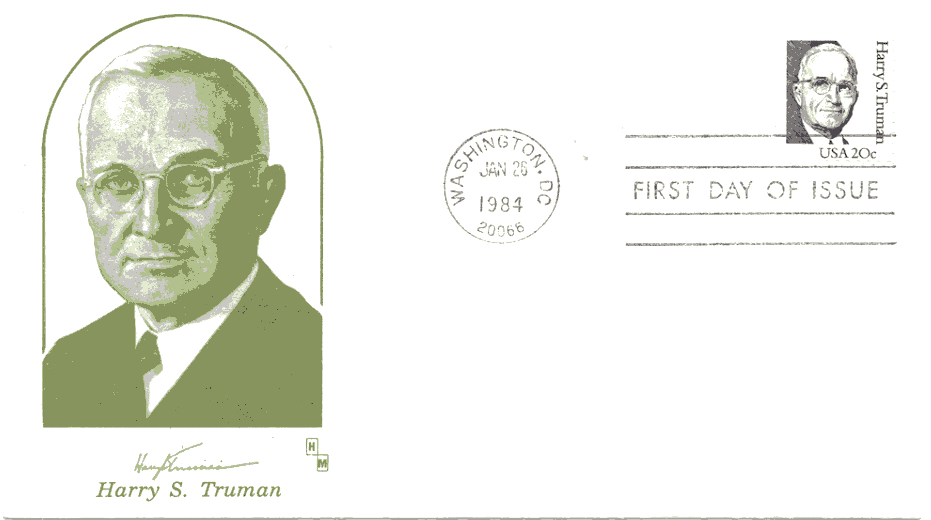 HST Definitive FDC #12