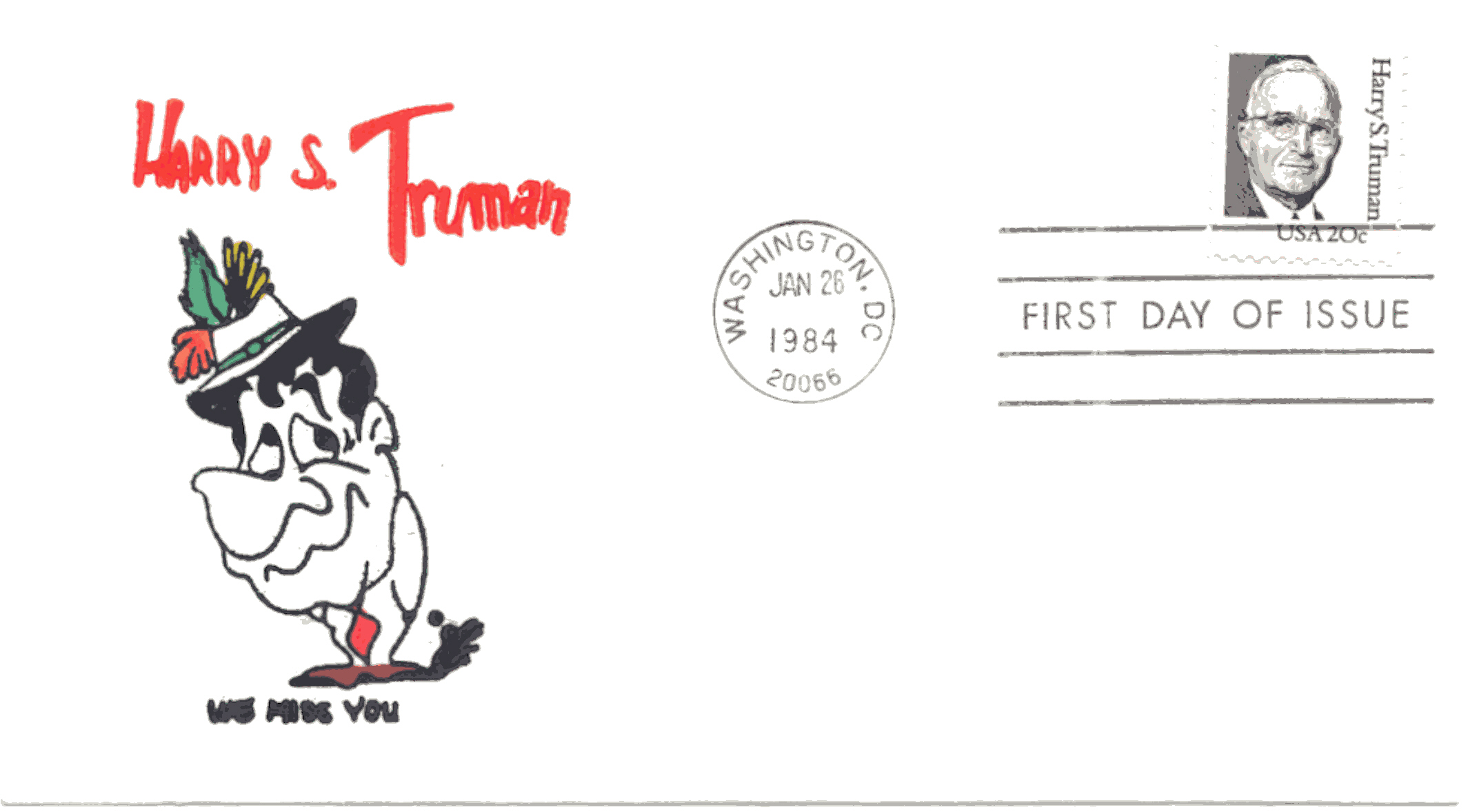 HST Definitive FDC #4