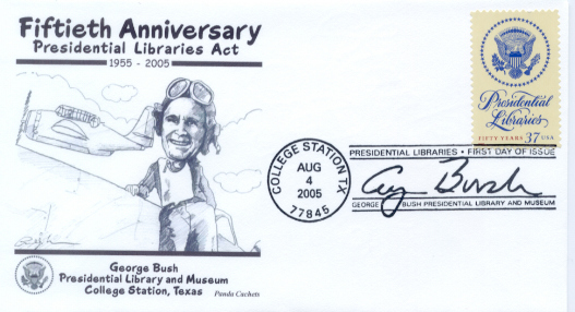 Presidential Library FDC #1
