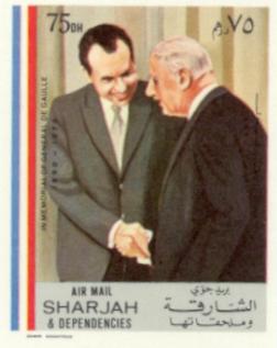 Sharjah #3 De Gaulle Memorial 75DH