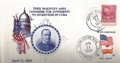 McKinley 78-04-11 Special Event Cover #10