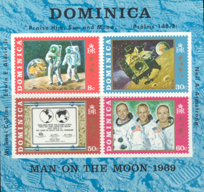 Dominica Apollo Moon Landing #3